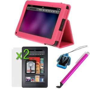 GTMax Hot Pink High Quality Premium Leather Carrying Cover
