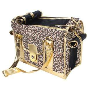 Leopard Print Pet Carrier Dog Cat Tote Bag