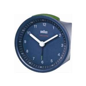 Braun 66011 alarm clock radio, blue.