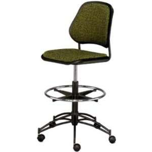 Chromcraft ISO ST Ergonomic Armless Office Footring Stool Chair