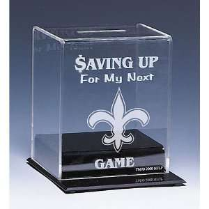 BSS   New Orleans Saints NFL Coin Bank