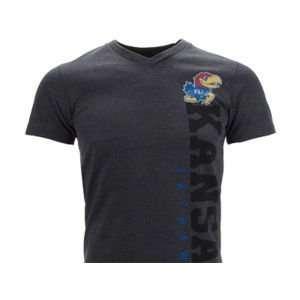 Kansas Jayhawks Colosseum NCAA Clutch Vneck T Shirt