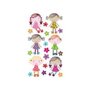Sticko Cute Dolls Sticker: Arts, Crafts & Sewing