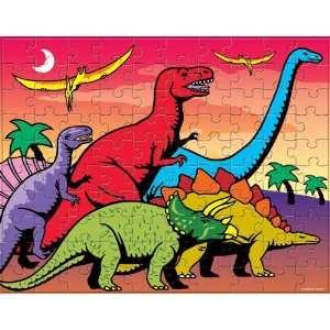 Flip Dinosaur Jigsaw Puzzle 100pc Toys & Games