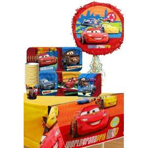 Disneys Cars 2 Party Supplies Pinata Party Pack Including