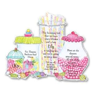 Sweet Tooth Birthday Invitation Health & Personal Care