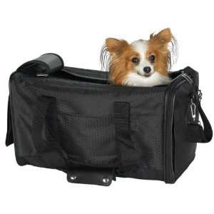 Casual Canine Black Basic Duffle Bag Pet Dog Carrier 17