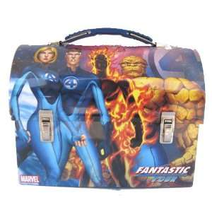 Fantastic Four Dome Metal Tin Lunch Box