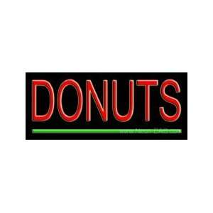Donuts Neon Sign 10 x 24