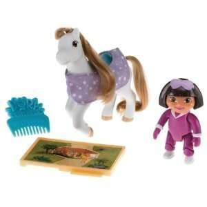 Doras Pony Adventures Playset Dora and Frost Toys & Games
