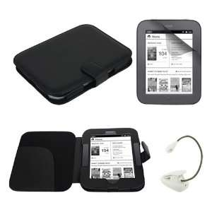 Case Cover + cLear Crystal Screen Protector + White eBook Reader