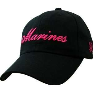 Marine Corps USMC Ladies Embroidered Ball Cap: Everything