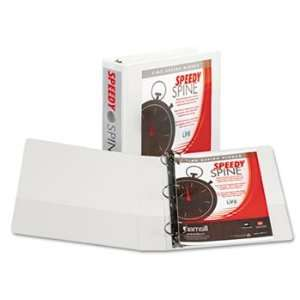 Speedy Spine Round Ring Binder, 11 x 8 1/2, 2 Capacity