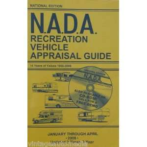 NADA Recreational Vehicle Appraisal Guide   January, 2008
