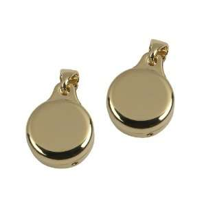 GOLD TONE PIN PENDANT CONVERTERS   CONVERT ANY BROOCH INTO