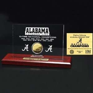 Alabama Crimson Tide 2009 BCS National Champions 13 Time
