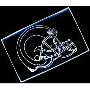 NFL  St. Louis Rams Helmet Neon Light Sign