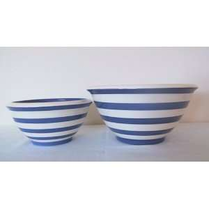 Ronnies Terramoto Ceramic, 2 Piece Mixing Bowl Set, 4qt