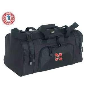 Luggage Nebraska Cornhuskers Black Sport Duffle Bag