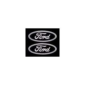 Ford Emblem Die Cutz Decal Auto Truck Car: Automotive