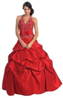Ball Gown Formal Prom Wedding Dress #2584 Clothing