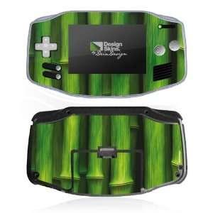 Skins for Nintendo Game Boy Advance   Bamboo Design Folie Electronics
