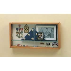 Compact Collectors Wall Display Case:  Sports & Outdoors