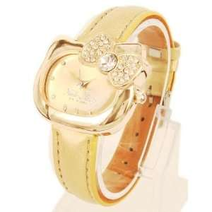 Hello Kittys Classy Lady in Gold Tone   Comes with a Bling Hello