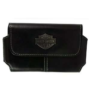Harley Davidson Licensed Horizontal Genuine Leather Case