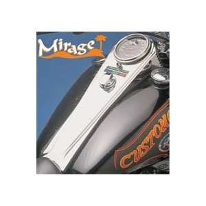 Custom Chrome Mirage Long Dash Cover For Harley Davidson