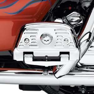 Harley Davidson Willie G Skull Chrome Footboard Covers