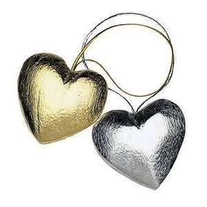 Heart Ornaments   Gold (2 pcs per set, Set of 6)   by