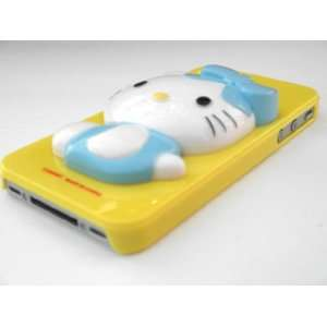 Hello Kitty Character Pop Up 3D Dimensions Hard Case Back Cover