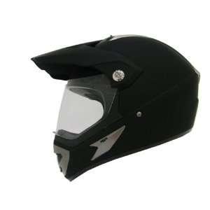 Motorcycle Utv Dual Sport Hybrid Helmet W/shield (Large) Automotive