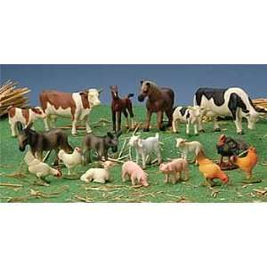 Block Play Farm Animals Toys & Games