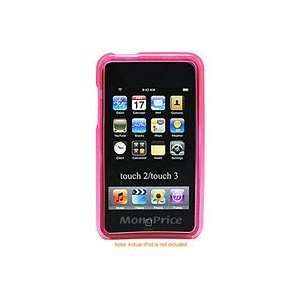 Case with Circle Pattern for iPod Touch 2G & 3G   Pink Electronics