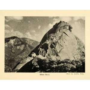 1928 Print Moro Rock Mountain Landscape Scenery Pathway
