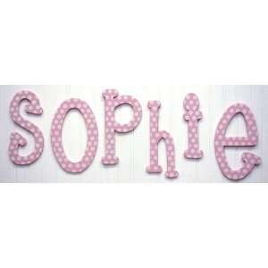 My Baby Sam Polka Dot Letter a, Pink/White Baby