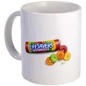 ART LIFE SAVERS I Have Candy Original Painting on an 11oz