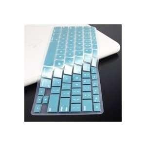 TopCase METALLIC BLUE Keyboard Silicone Cover Skin for Macbook
