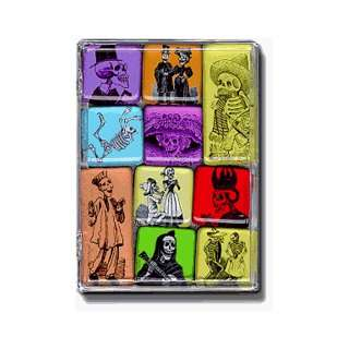 Dias de los Muertos Mighty Magnets Set of 10 magnets