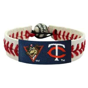 MLB Minnesota Twins TC Mascot Classic Baseball Bracelet