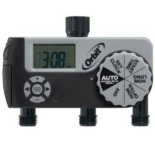 com Melnor 3060 6 Cycle Electronic AquaTimer Digital Dual Hose Timer