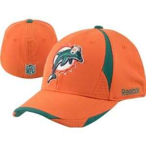 Miami Dolphins Reebok Accent Structured Flex Hat Sports
