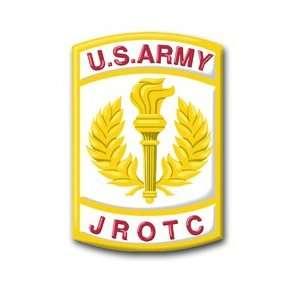 United States Army JROTC Crest Decal Sticker 3.8