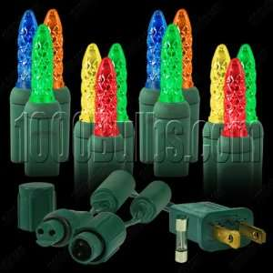 LED Christmas Lights   Multi Colored   Commercial Mini Light System