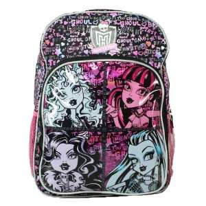 16 Monster High Scary Cute Ghoul Backpack Office