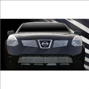SES Trims Chrome Billet Lower Grille 08 11 Nissan Rogue Automotive