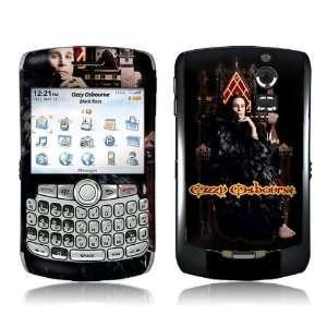 OZZY20006 BlackBerry Curve  8300 8310 8320  Ozzy Osbourne  Throne Skin