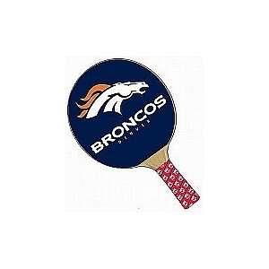 NFL Denver Broncos Table Tennis Paddle Set